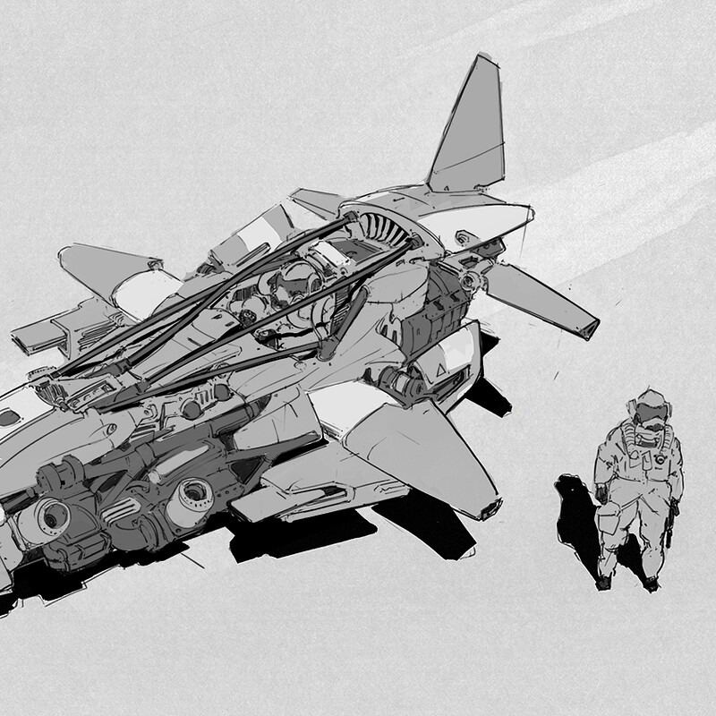 Dogfight vehicle concept