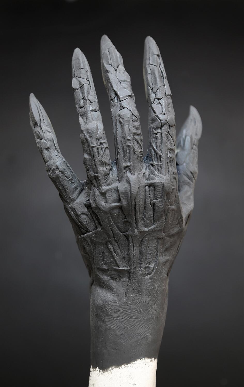 Suspiria / Figure of Death Hand WIP Prosthetic Sculpt