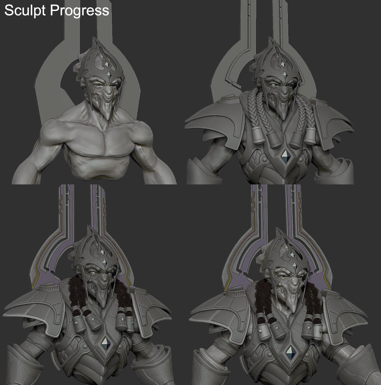 Sculpting Workflow