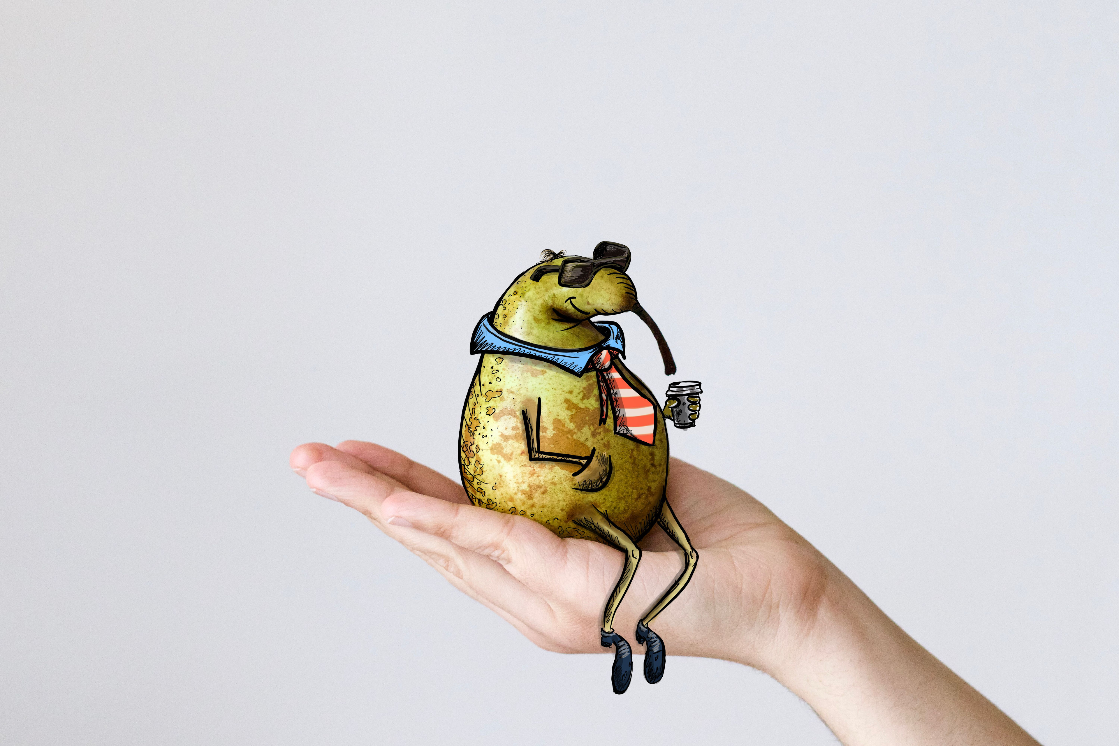 Mr Pear - character visualization