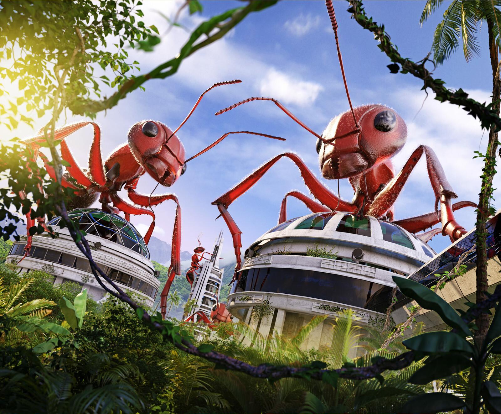 Uncle Milton's Ant Farm