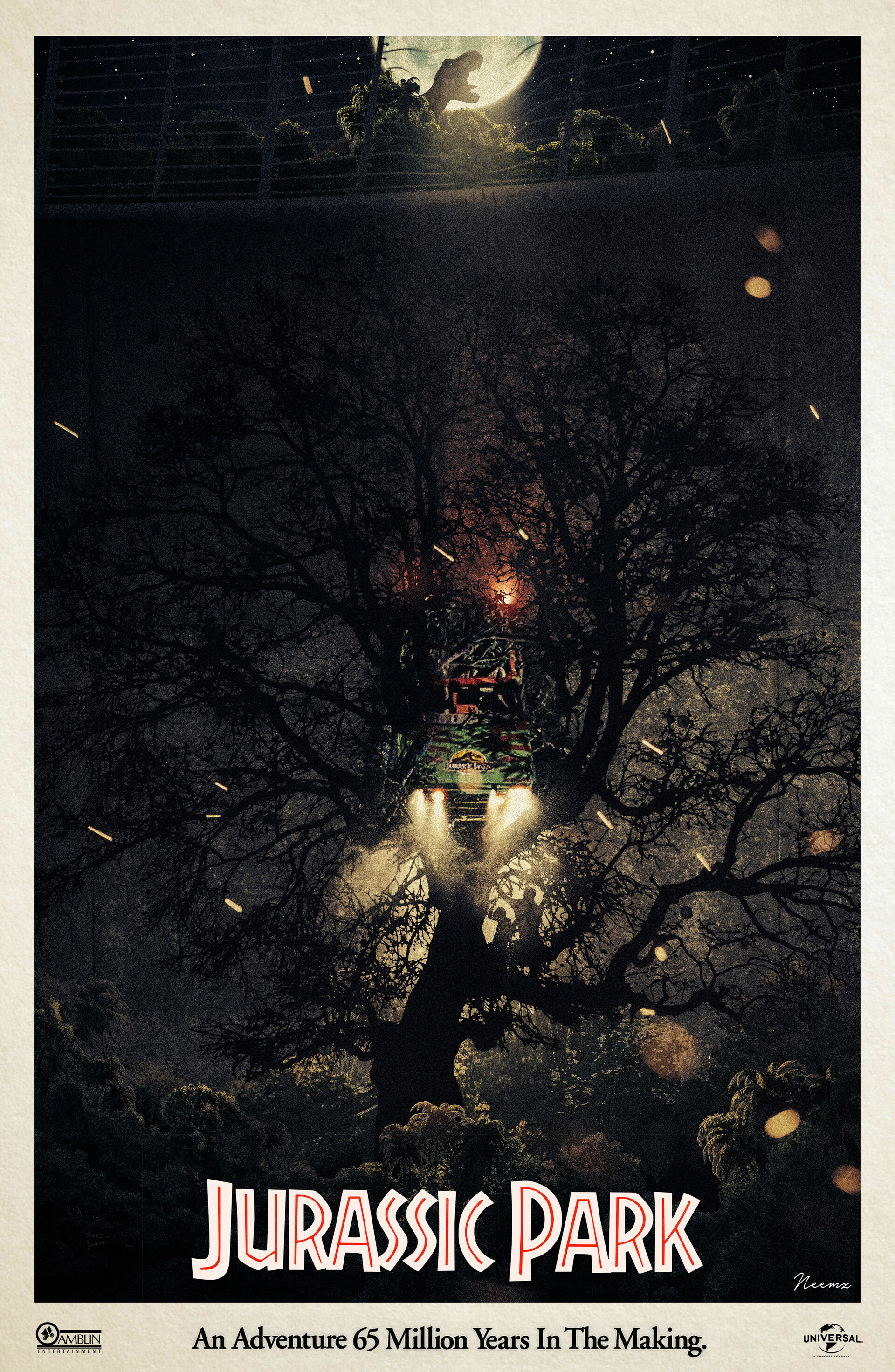 """Did your dad ever build you a treehouse Tim?"" #AlternativeMoviePoster - I woke up yesterday with an idea for a poster & I challenged myself to see if I could make it a reality. After combining over 50+ images this is final result. What do you think?"