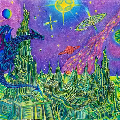 Daniel denta cosmic dragonscape hd