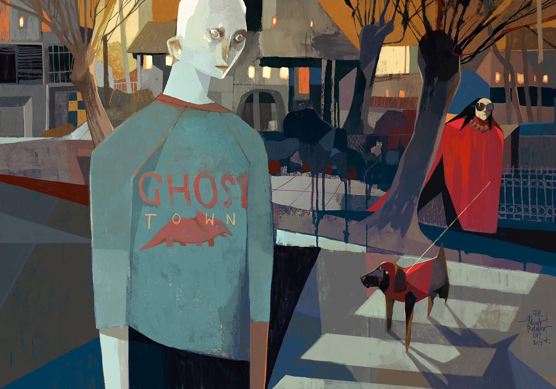 Jakub rebelka ghost town