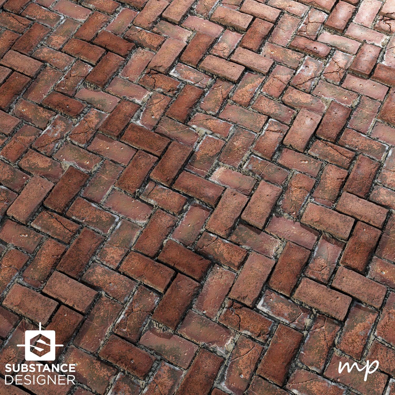 Martin pietras plane render brick
