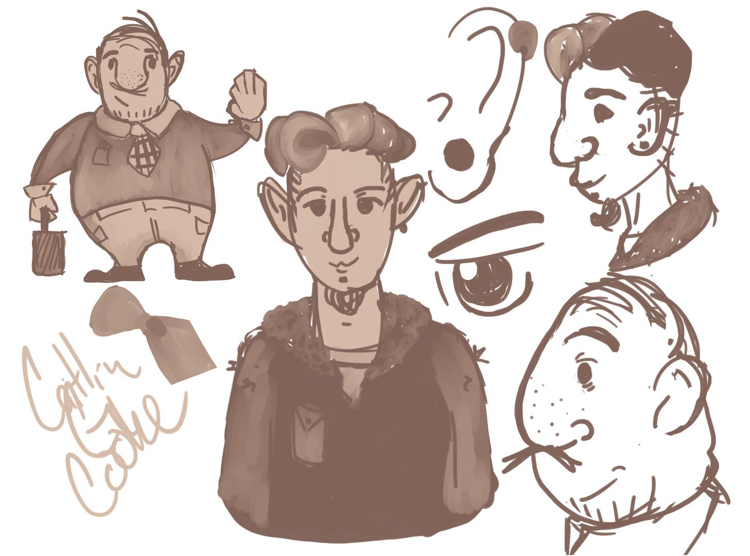 Doodle of Dudes