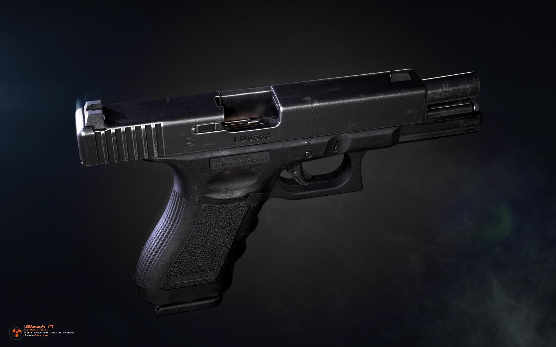 Renderdock studio glock17 2