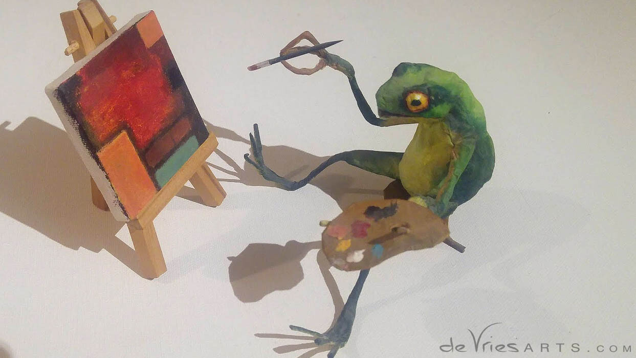 original paper mache artwork!