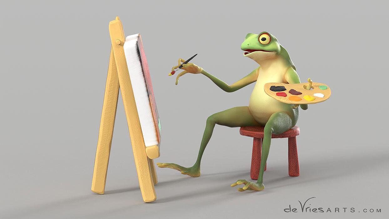 Thijs de vries 02 frog thijsdevries devriesarts
