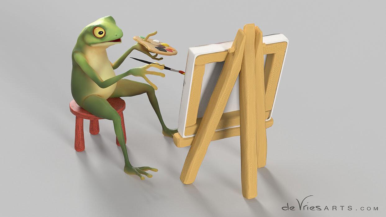 Thijs de vries 04 frog thijsdevries devriesarts