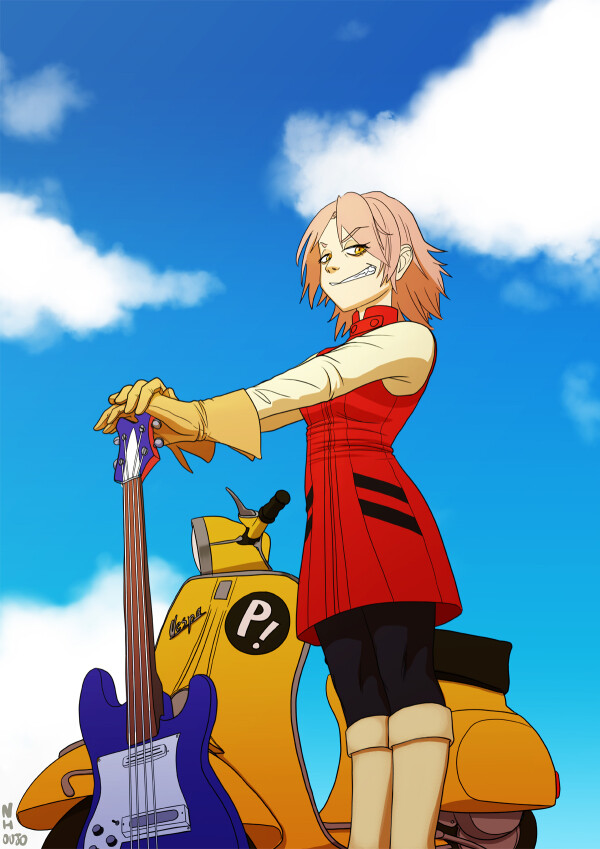 Haruko from FLCL