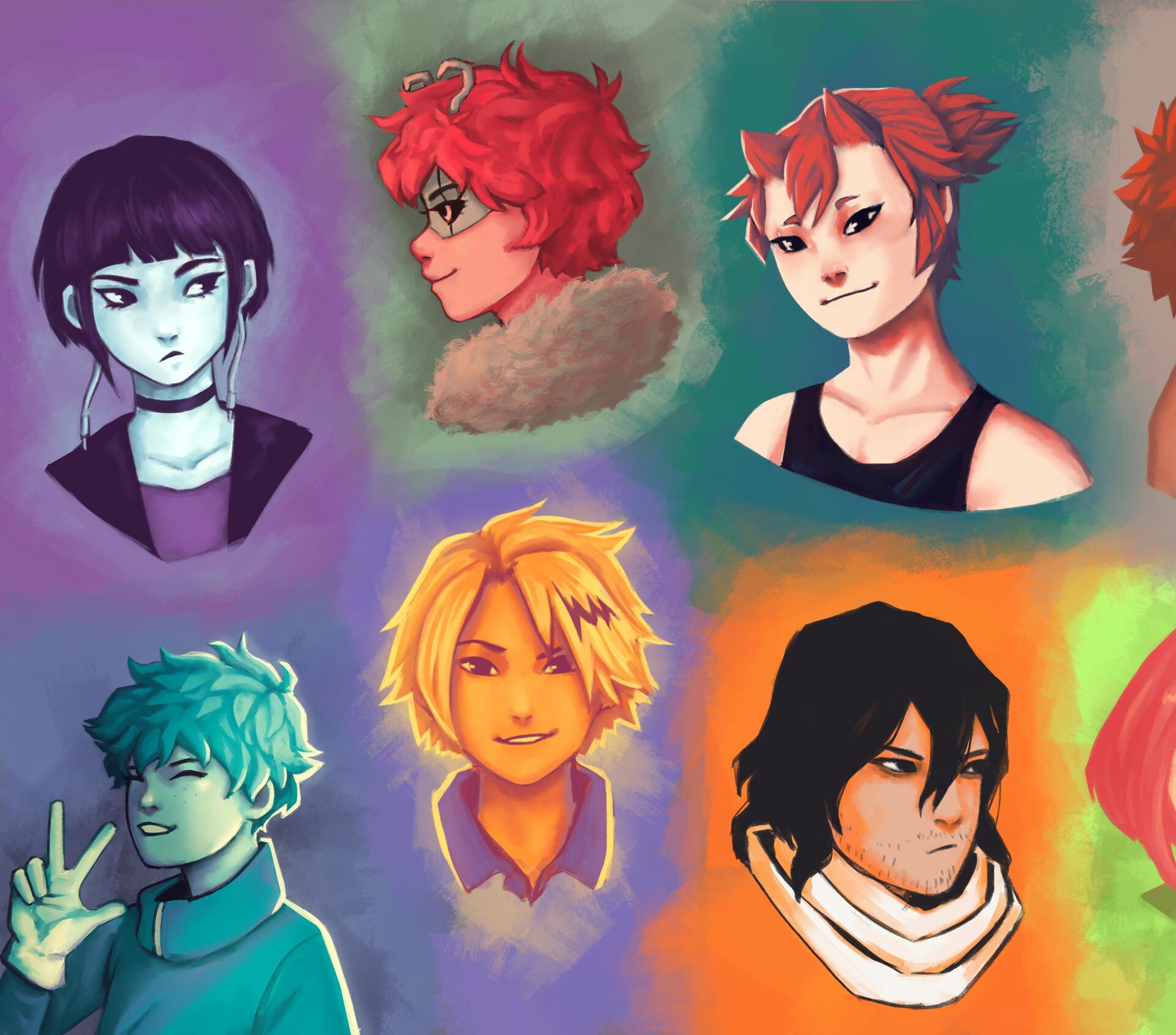 Artstation Colour Palette Challenge Raphaela Springer