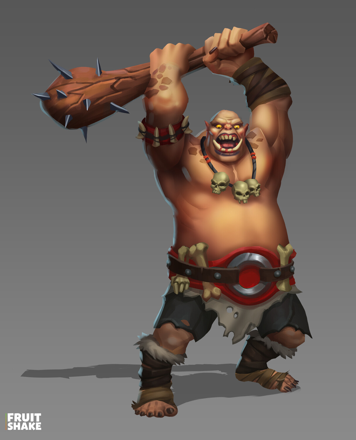 Alexey Stepanov - Ogre for mobile game