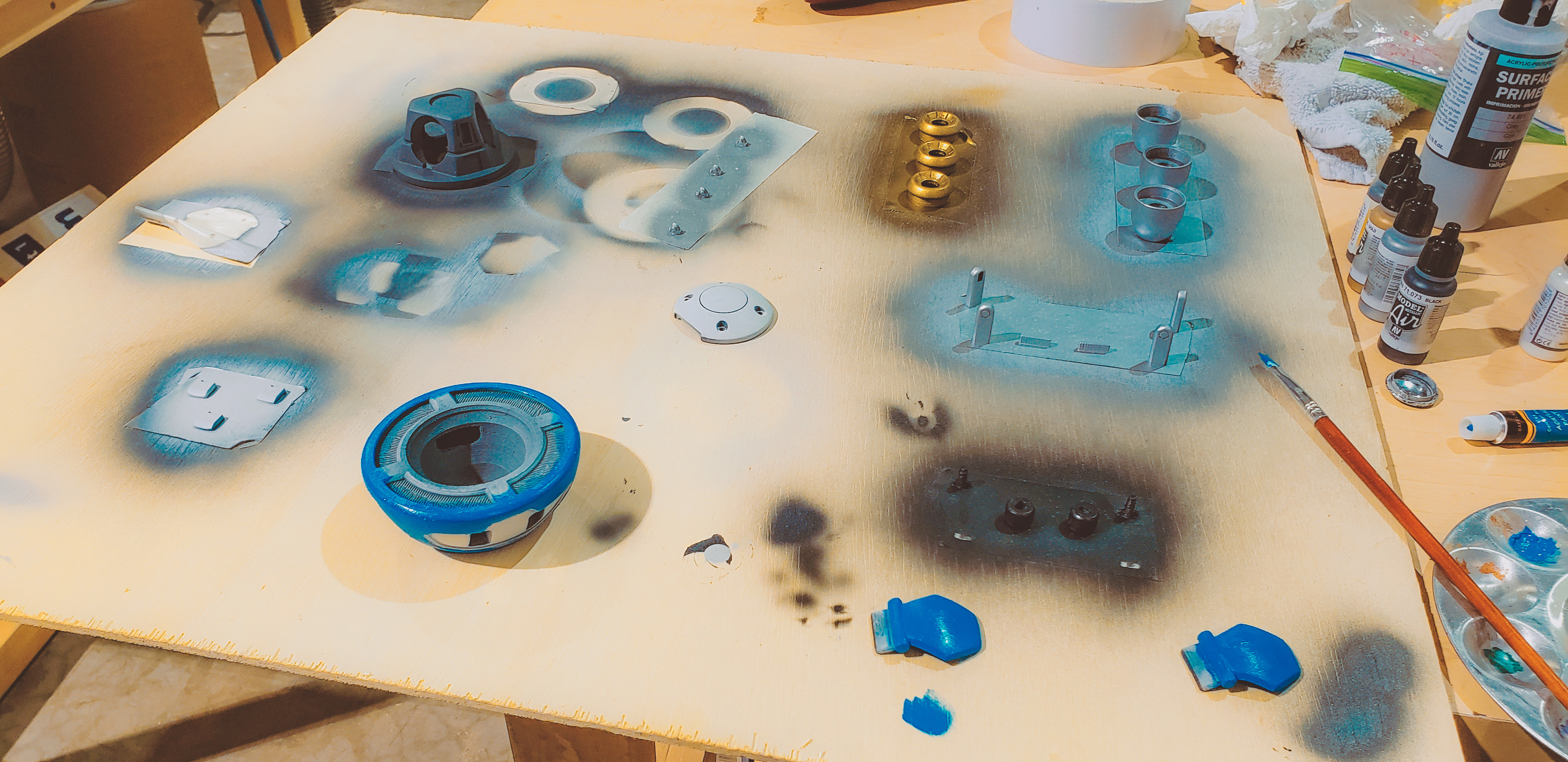 Painting Parts