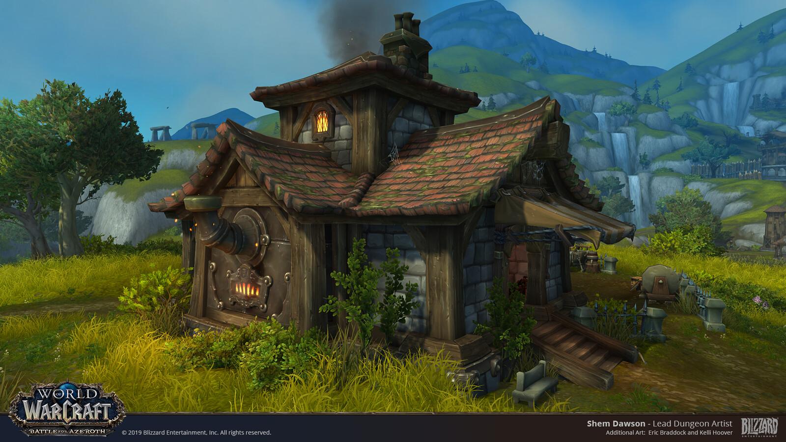 The Blacksmith Area