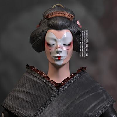Claire bian geisha bian