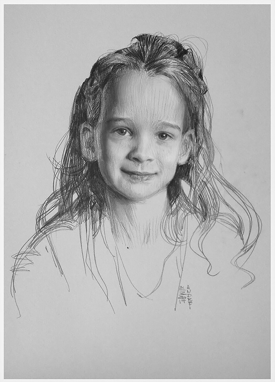 Portrait of my doughtier Amy