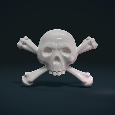Alexander volynov simple skull c 0001