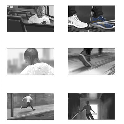 Richard tilbury adidas sequence