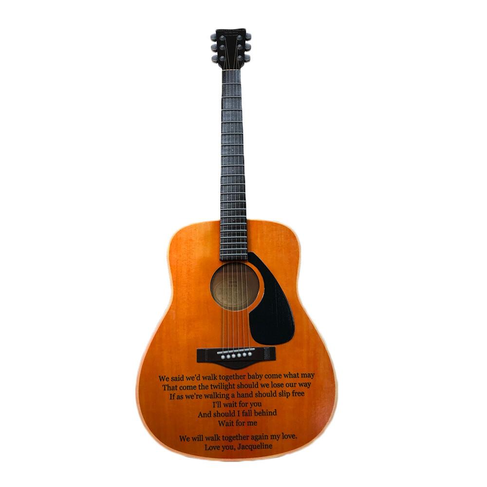 Ken calvert foreverence guitar print