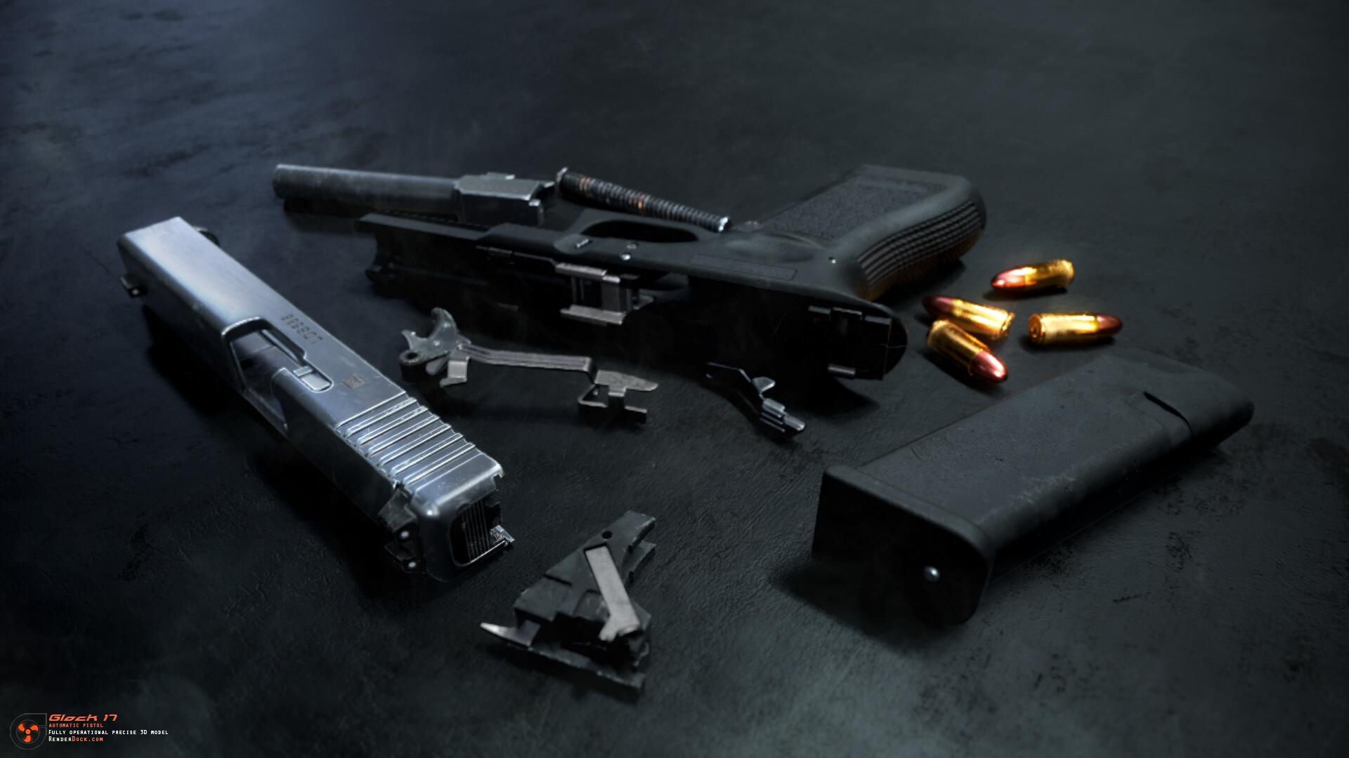 Renderdock studio glock17 9
