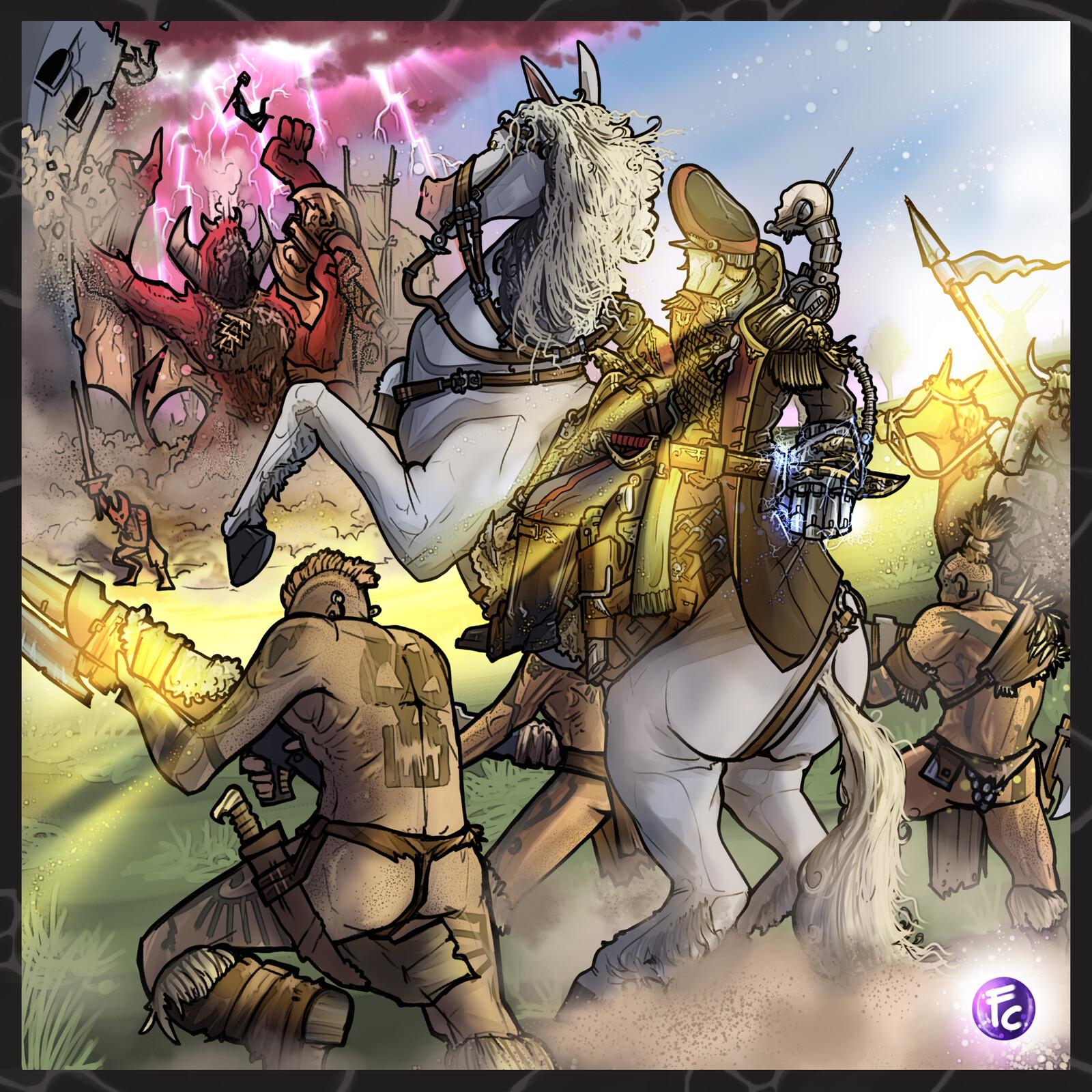 Imperium Tribal World Vs Daemons