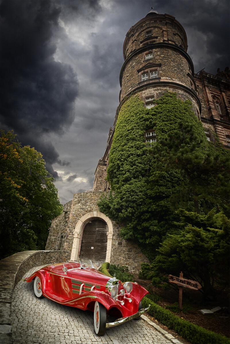 Anton golubov castle mb 540k special roadster by aghandwork