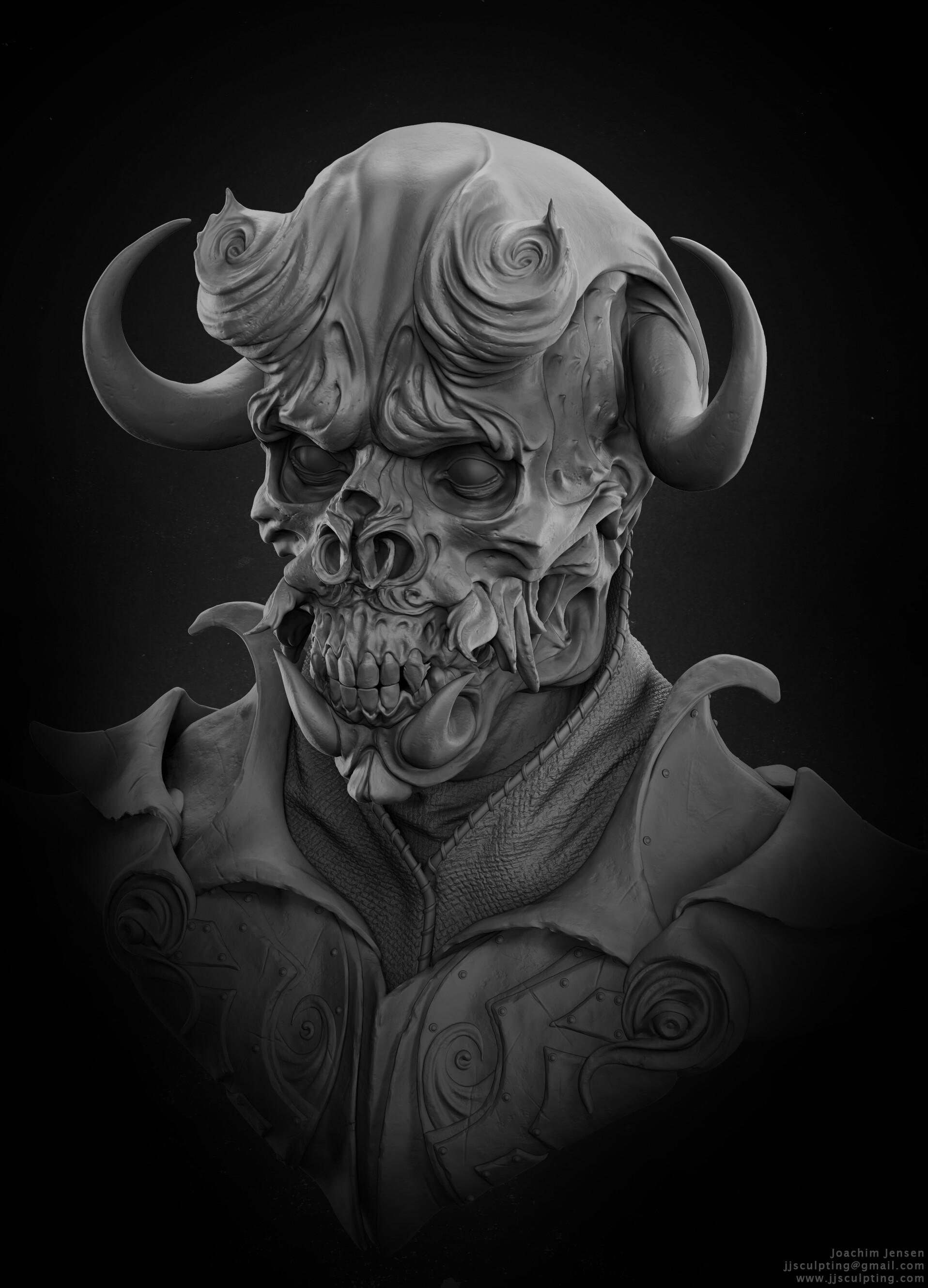 Joachim jensen clay render