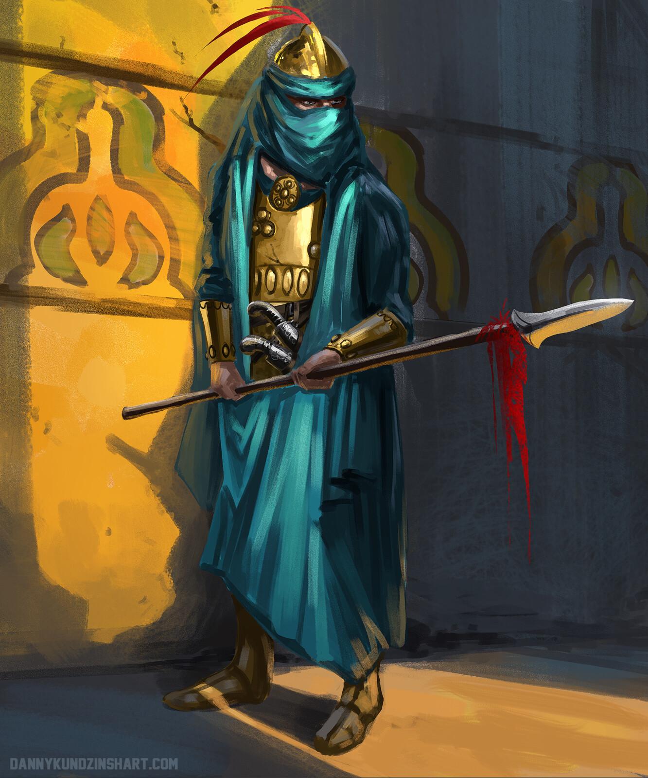 Arabian Lancer