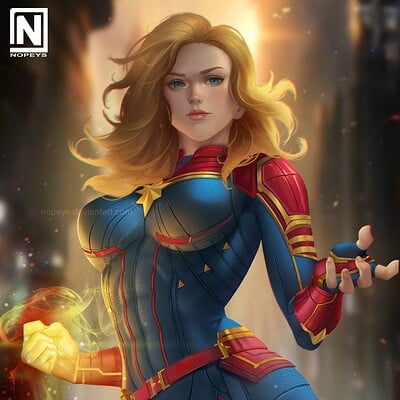 Nopeys norman de mesa captain marvel 6
