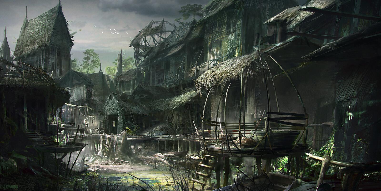 Bog village