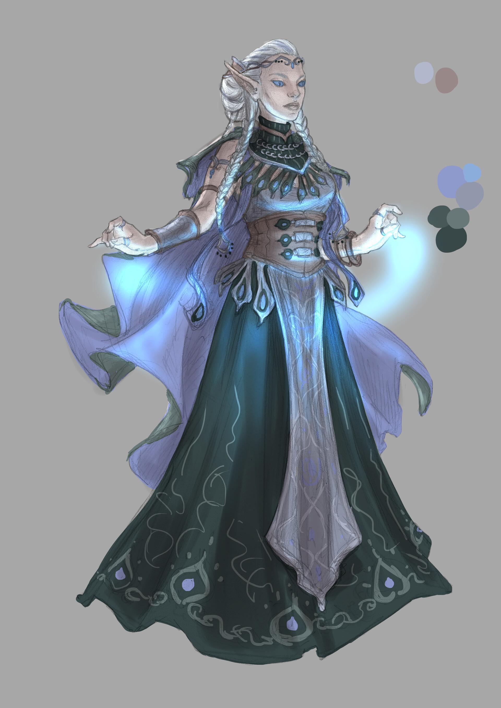 Beatrice pelagatti elf of celmae color wip2