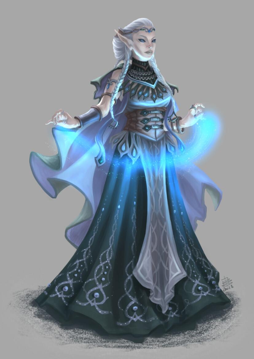 Beatrice pelagatti elf of celmae color preview