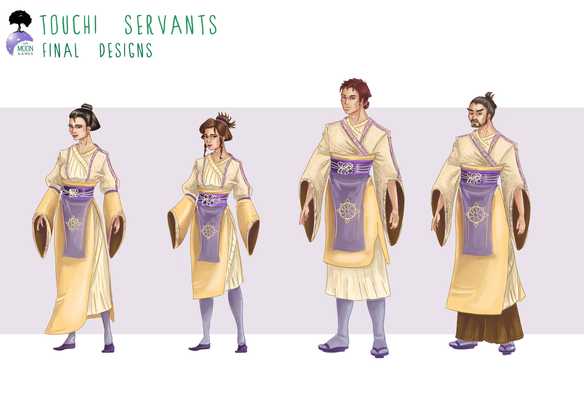 Servant final designs