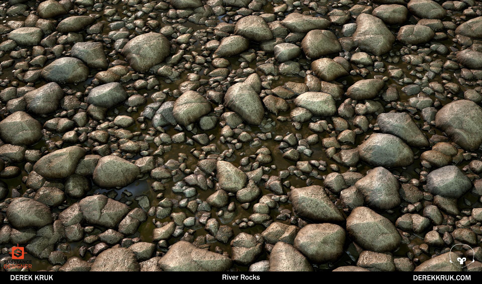 Derek kruk pebble beauty 2