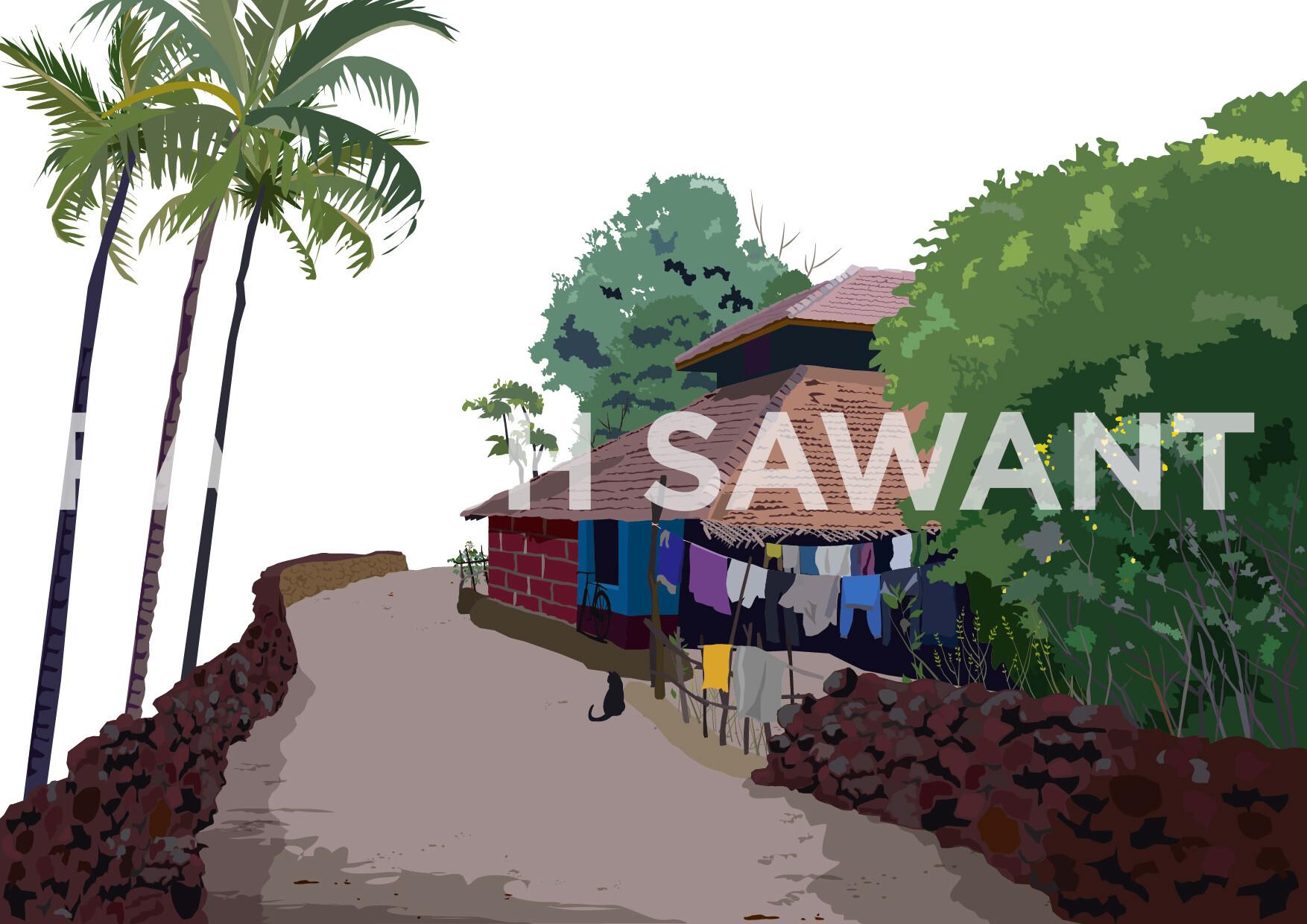 Rajesh r sawant rajesh sawant konkan house vadkol2 01water