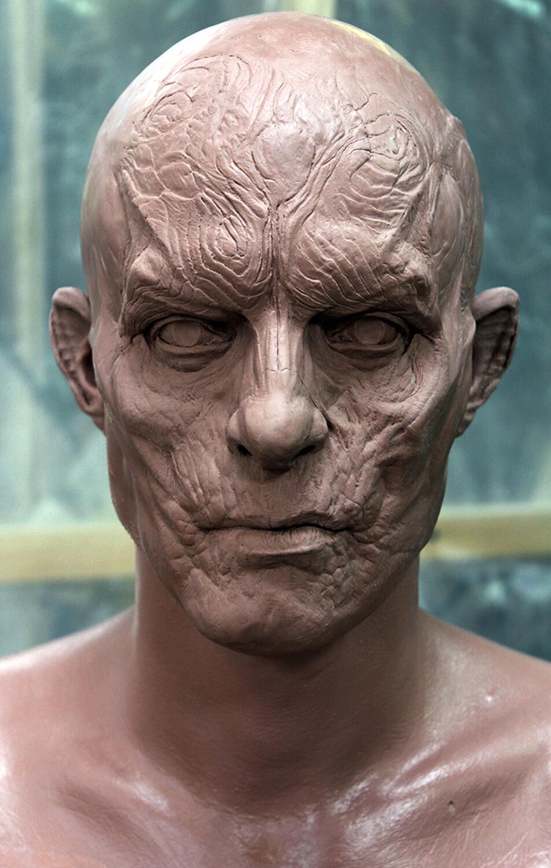 Daracula Untold / Caligula Concept Sculpt on Charlie Cox