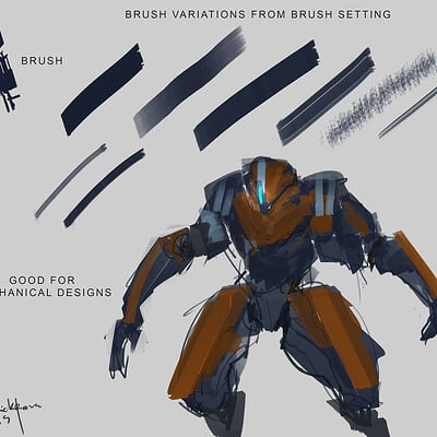 Benedick bana brush design 01