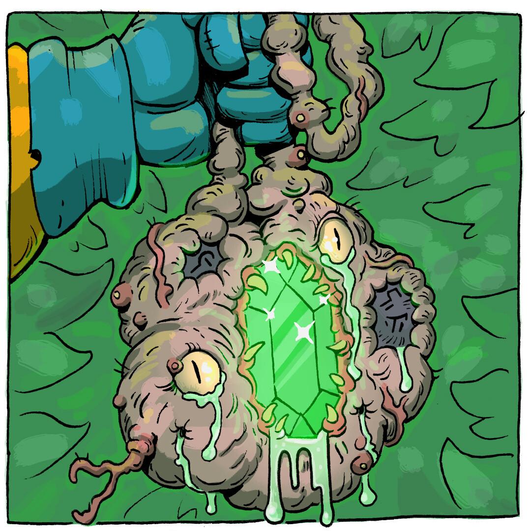 Thomas o halloren grotesque talisman