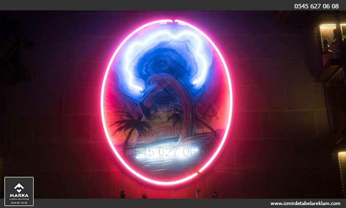Izmir tabela reklam hizmetleri izmir tabela ahsap kutu isikli tabela neon