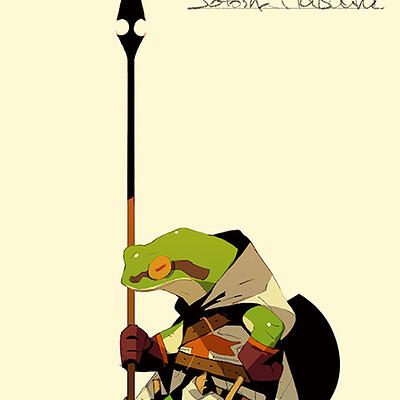 Satoshi matsuura 2019 03 14 frog knight s