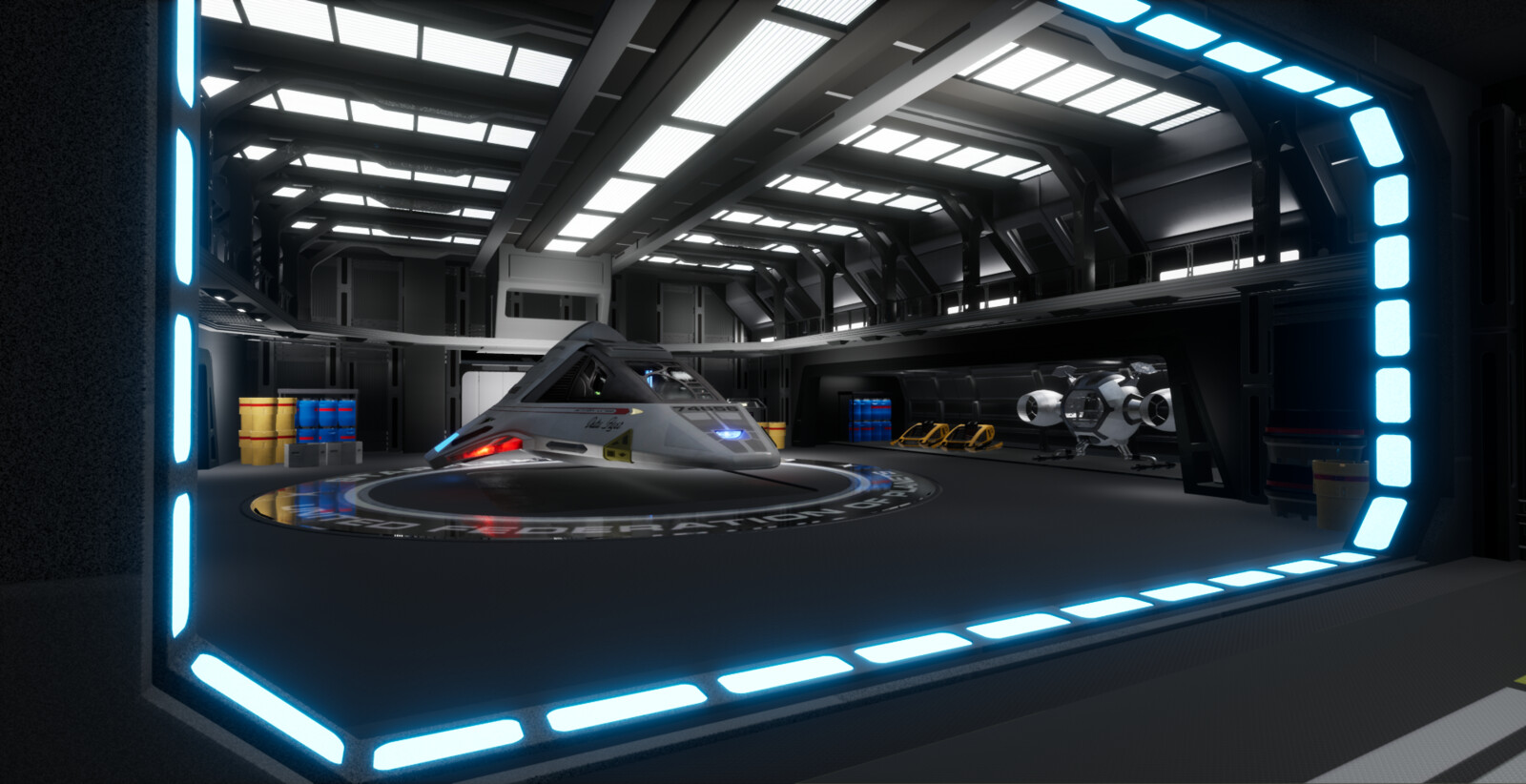 Voyager mainshuttlebay prototype