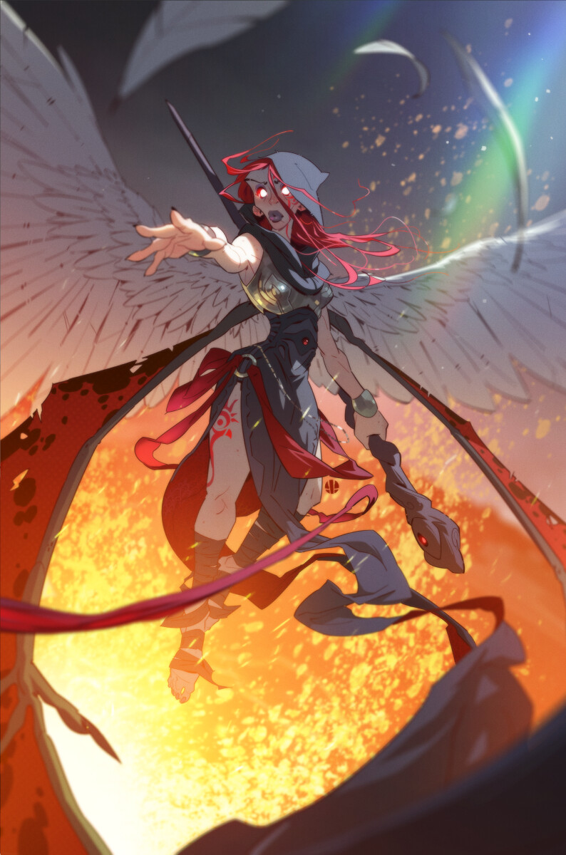 Artstation Magic The Gathering Kaalia Of The Vast Ty Dunitz