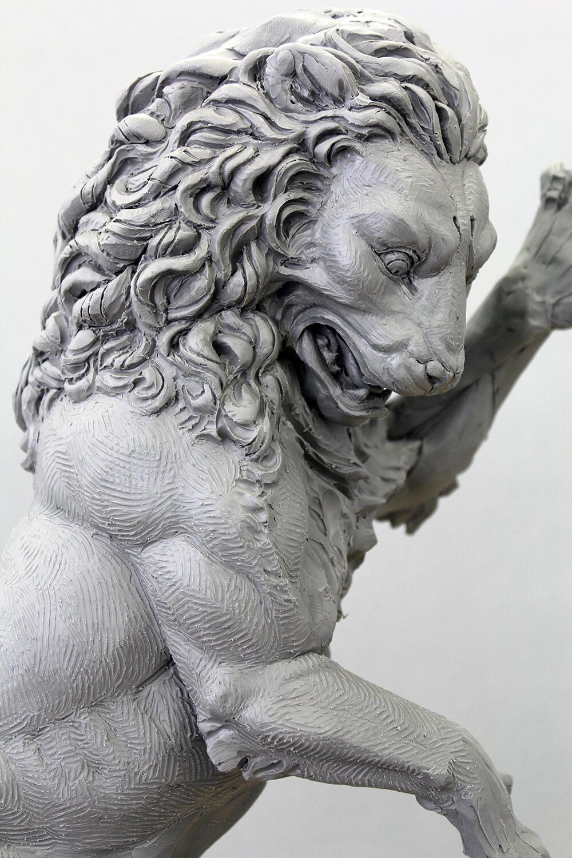 La belle et la bête / Fireplace Lion Concept Maquette