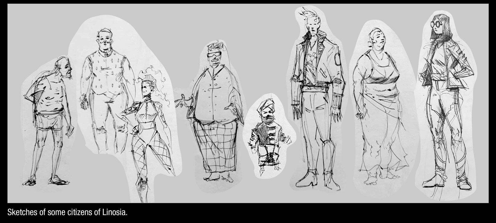 Shafi adam characters