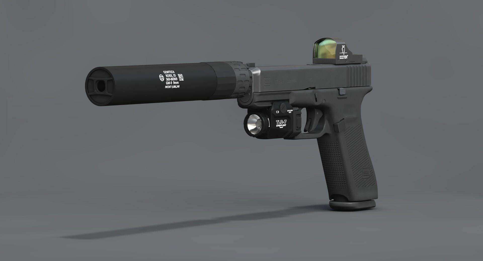Vladimir Myagkiy - Glock 17 Gen 5 and Tactical kit