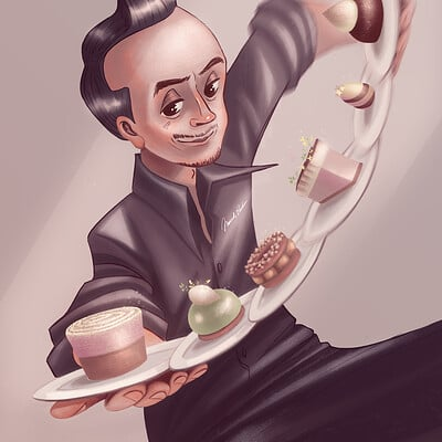 Paris Professional Pastry Chef - Nicolas Bacheyre