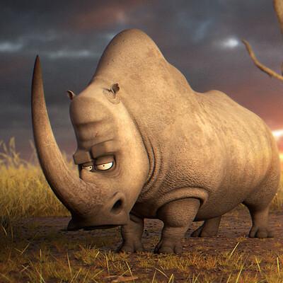 Bobby zheng rhino sunset
