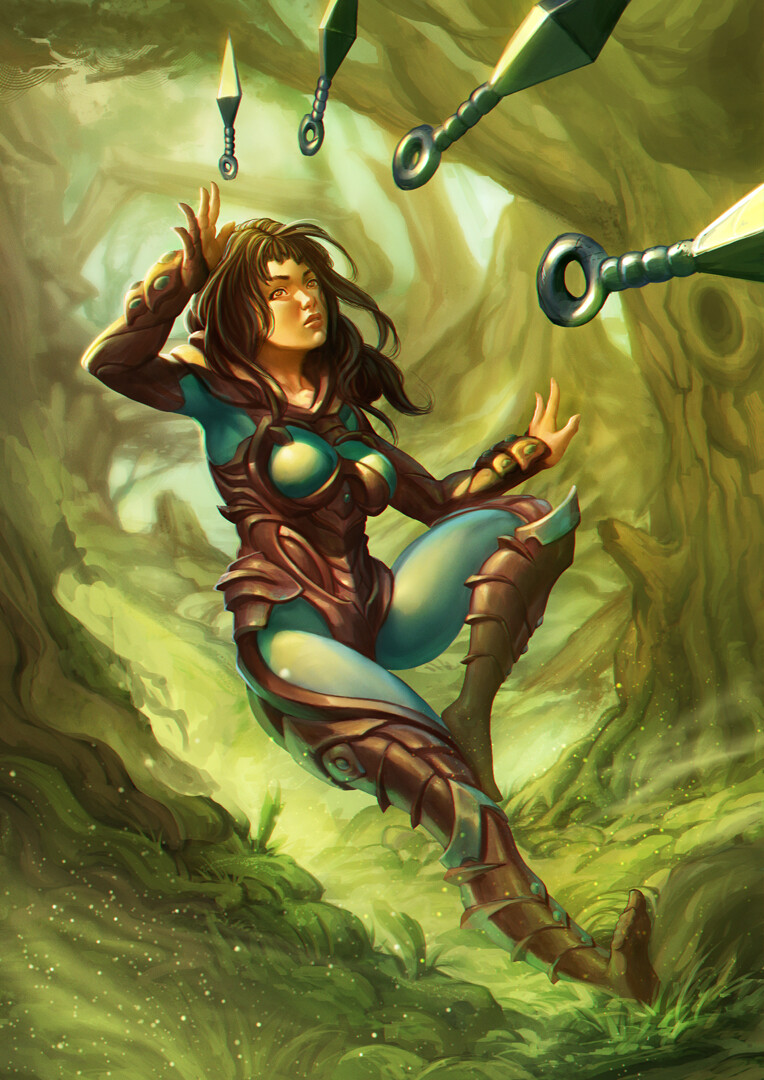 Luka brico forest huntress
