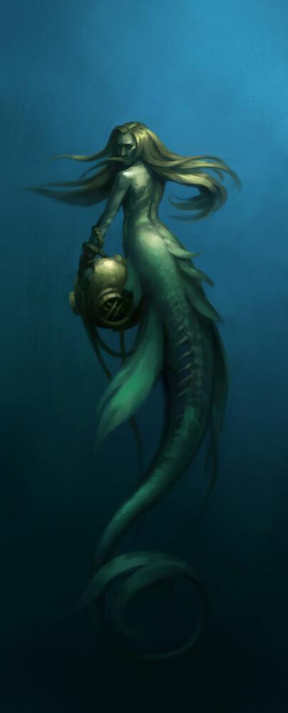 Deepsea Mermaid